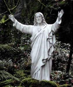 Jesus in the Sanctuary of Our Sorrowful Mother, Portland, Oregon